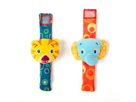 Погремушка Bright Starts Стильная пара на ручку 8531 погремушки bright starts стильная пара браслетиков на ручку