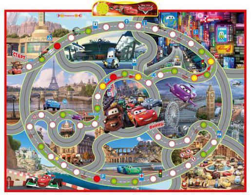 Электронный звуковой плакат Умка Disney Тачки Правила дорожного движения IP6258 от 123.ru