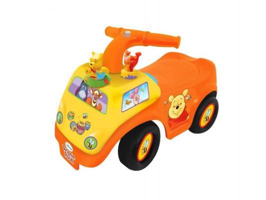 Каталка-машинка Kiddieland Винни оранжевый от 1 года пластик