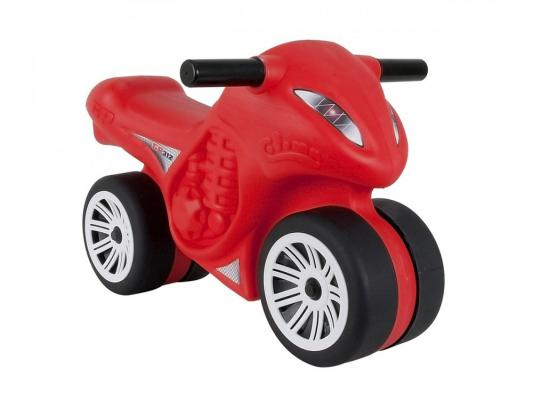 Каталка-мотоцикл Coloma Moto Phantom GP 312 красный от 1 года пластик 46499 каталка мотоцикл pilsan mini moto в подарочной коробке красный 06 809