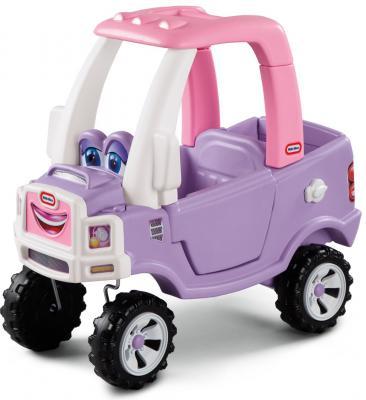 Каталка-машинка Little Tikes Машина Принцессы сиреневый от 1 года пластик