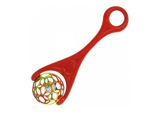 Каталка на палочке Rhino Toys Oball 2-в-1 красный от 1 года пластик 1091 каталка на палочке s s toys рыбка пластик от 1 года на колесах оранжевый