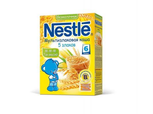 Купить Каша Nestle безмолочная мультизлаковая 5 злаков с 6 мес. 200 гр.