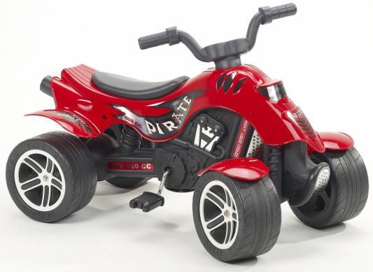 Квадроцикл красный педальный 84 см