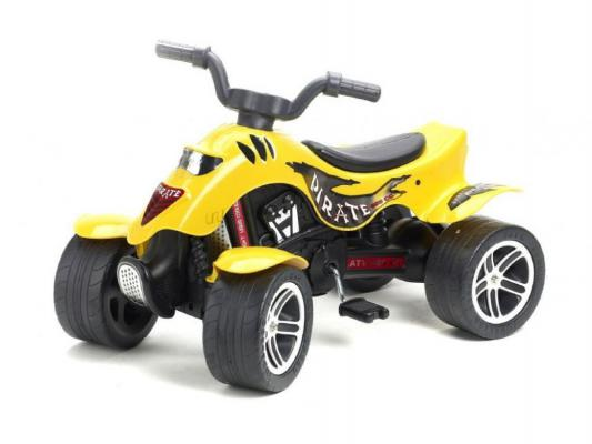 Квадроцикл педальный Falk Pirate (84 см., желтый) falk квадроцикл falk красный педальный 84 см