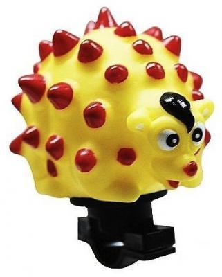 Клаксон RichToys Ежик желтый СВ-3055