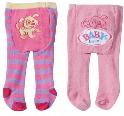 Колготки Zapf Creation Baby born 2 пары (3 шт. в ассортименте)