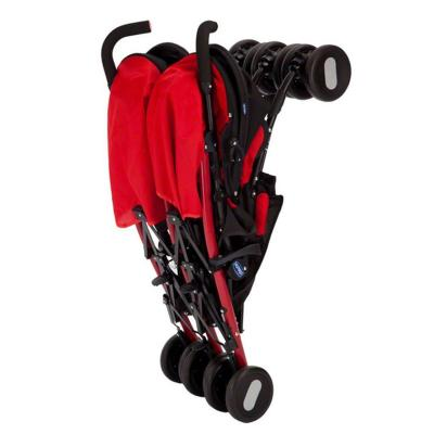 Коляска-трость для для двоих детей Chicco Echo Twin Stroller (garnet)