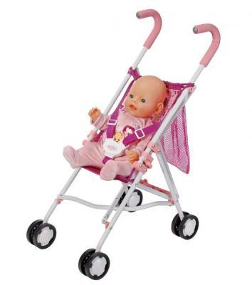 Коляска-трость Zapf Creation Baby Born, с сеткой 819-678