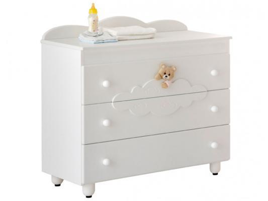 Комод бельевой Baby Expert Abbracci-Trudi (белый) комоды baby expert abbracci by trudi бельевой 3 ящика