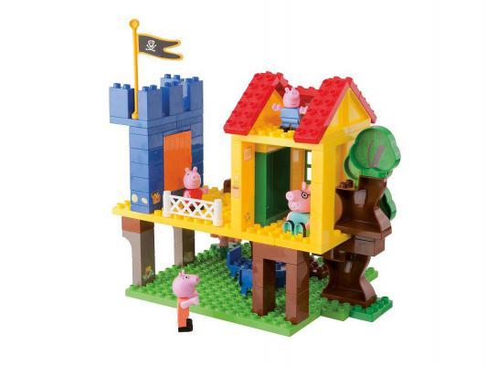 Конструктор Big Peppa Pig: Дом на дереве 94 элемента 57077