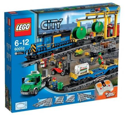 Конструктор Lego City: Грузовой поезд 888 элементов 60052