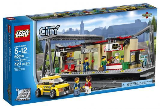 Конструктор Lego City Железнодорожная станция 423 элемента 60050
