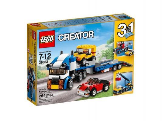 Конструктор Lego Creator Автотранспортер 264 элемента 31033
