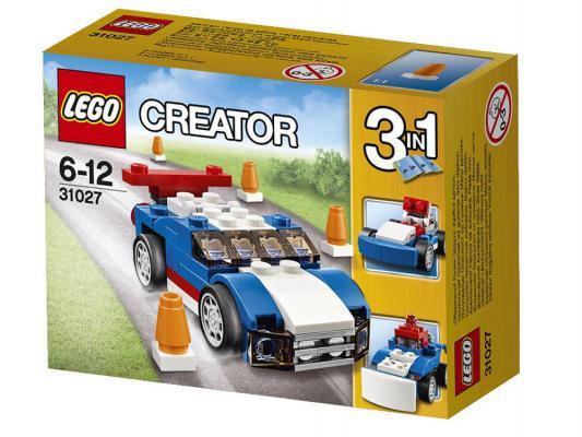Конструктор Lego Синий гоночный автомобиль 67 элементов 31027