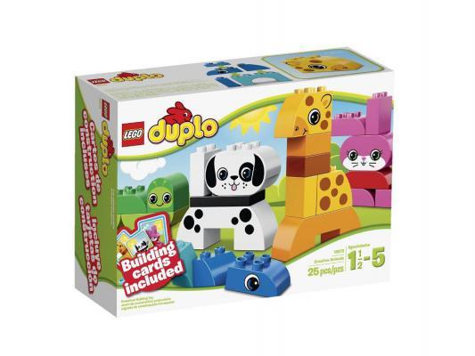 Конструктор Lego Duplo Весёлые зверюшки 25 элементов 10573