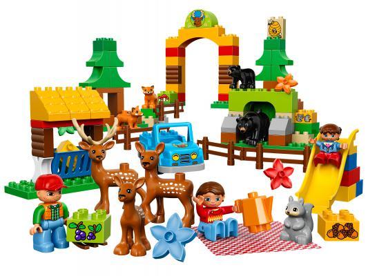 Конструктор Lego Duplo Лесной заповедник 105 элементов 10584