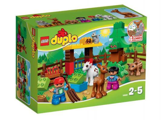 Конструктор Lego Duplo Лесные животные 12 элементов 10582
