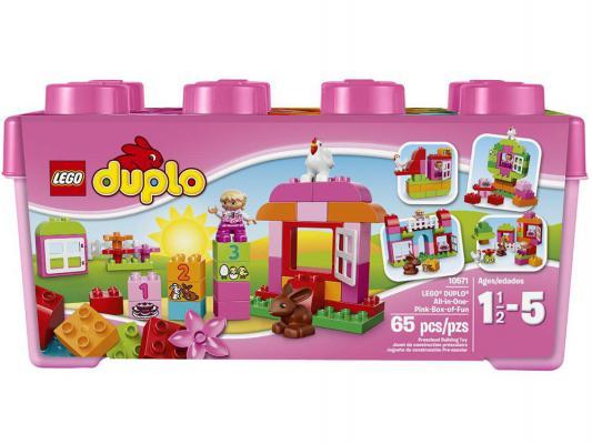 Конструктор Lego Duplo Лучшие друзья: курочка и кролик 65 элементов 10571