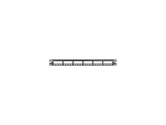 Патч-панель Panduit CP24BLY 24 порта наборная черный патч панель panduit cppl24wbly 19 24 порта