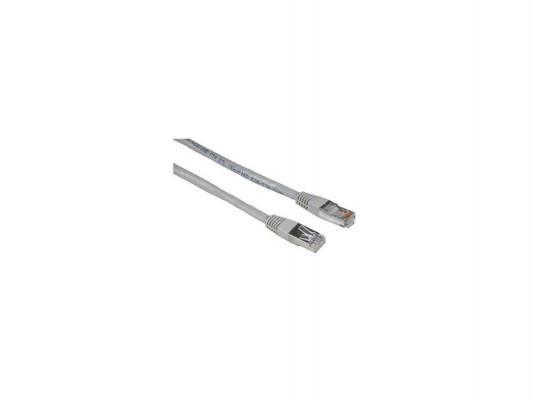 Патч-корд 5E категории Hama H-30620 STP серый 30.0м сетевой кабель hama patch cord cat 5e stp rj45 30m h 30620
