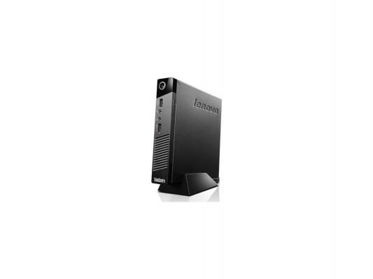 Неттоп Lenovo ThinkCentre M53 Tiny Intel Celeron-J1800 2Gb 500Gb + 8 SSD Intel HD Graphics 64 Мб Без ОС черный 10DE0014RU