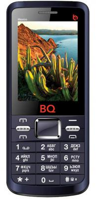"""Мобильный телефон BQ BQM-2408 Mexico синий 2.4"""" 32 Мб 4 симкарты"""