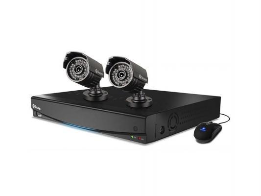 Комплект видеонаблюдения Swann DVR4-1425 2 уличные камеры 4-х канальный видеорегистратор