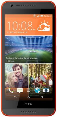 "Смартфон HTC Desire 620G Dual оранжевый серый 5"" 8 Гб Wi-Fi GPS"