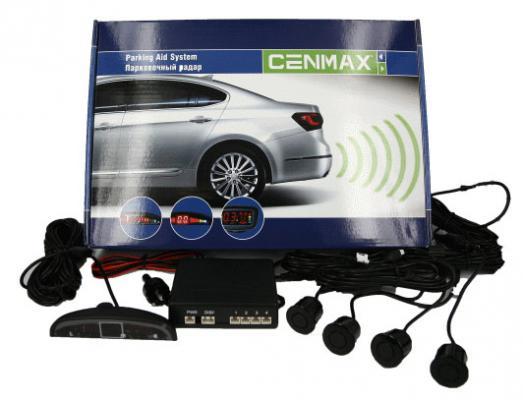 Парктроник Cenmax РS-4.1 20мм черный охранная система cenmax vigilant st10 d