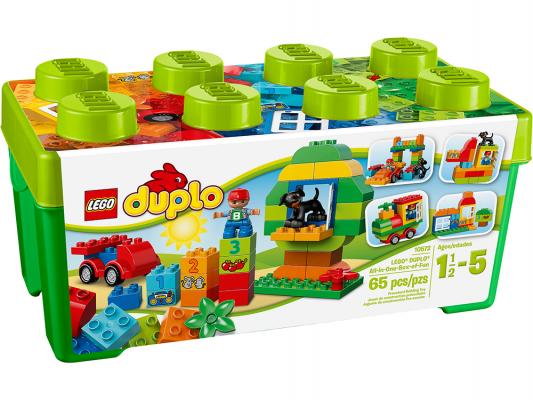 Конструктор Lego Duplo Механик 65 элементов 10572 конструктор lego duplo лошадки 20 элементов 10806