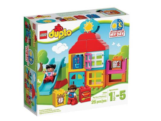 Конструктор LEGO Duplo Мой первый игровой домик 25 элементов 10616