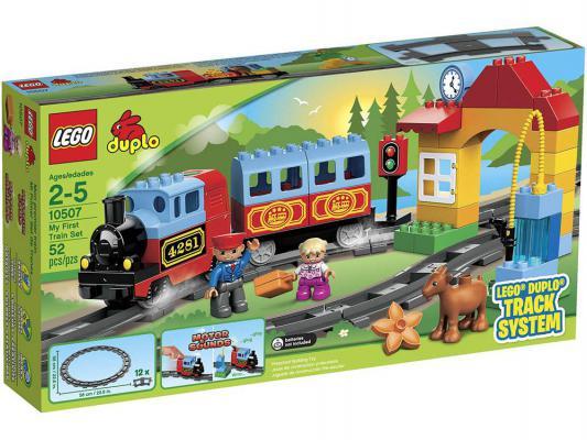 Конструктор Lego Duplo Мой первый поезд 52 элемента 10507