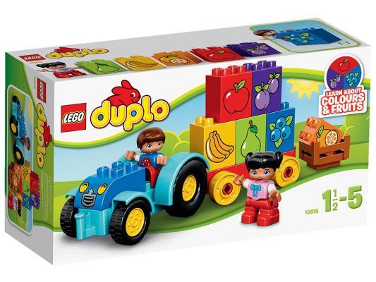 Конструктор Lego Duplo Мой первый трактор 12 элементов 10615