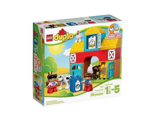 Конструктор LEGO Duplo Моя первая ферма 26 элементов 10617