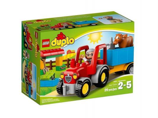 Конструктор Lego Duplo Сельскохозяйственный трактор 29 элементов 10524