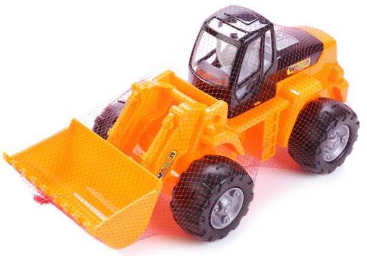 Купить Трактор Полесье ТРАКТОР-ПОГРУЗЧИК желтый 3944, ПОЛЕСЬЕ, Детские модели машинок