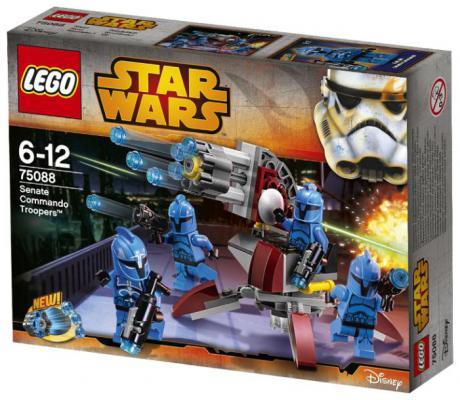 Конструктор Lego Star Wars: Элитное подразделение Коммандос Сената 106 элементов 75088