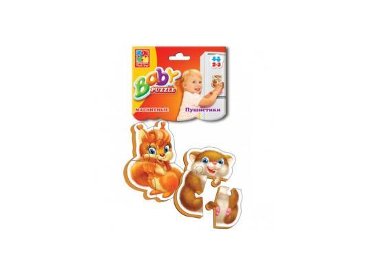 Пазл Vladi toys магнитный Пушистики 7 элементов VT3208-04 пазл магнитный 18 x 27 126 элементов printio кошка