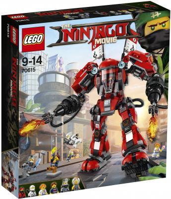 Конструктор LEGO Ниндзяго Огненный робот Кая 944 элемента 70615