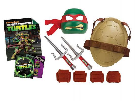 Игровой набор TMNT Полного боевого снаряжения Черепашки Ниндзя Рафаэль от 3 лет 8 предметов 92080