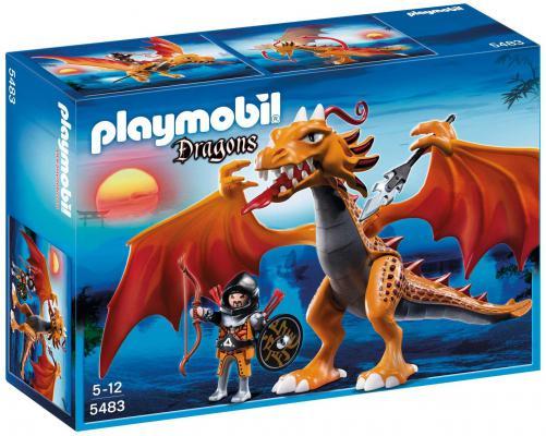 Конструктор Playmobil Азиатский дракон: Огненный дракон 15 элементов
