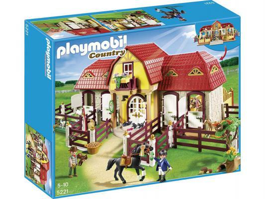 Конструктор Playmobil Лошади Большая конюшня 486 элементов 5221