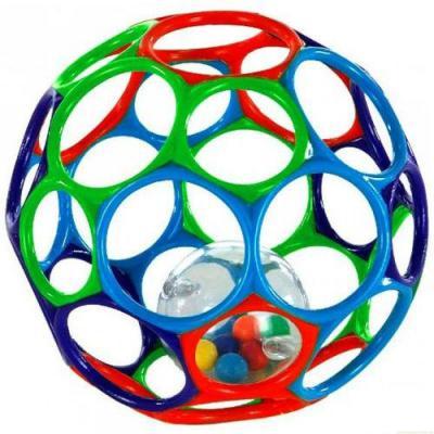 Мяч Rhino Toys Oball с погремушкой 15 см 81030