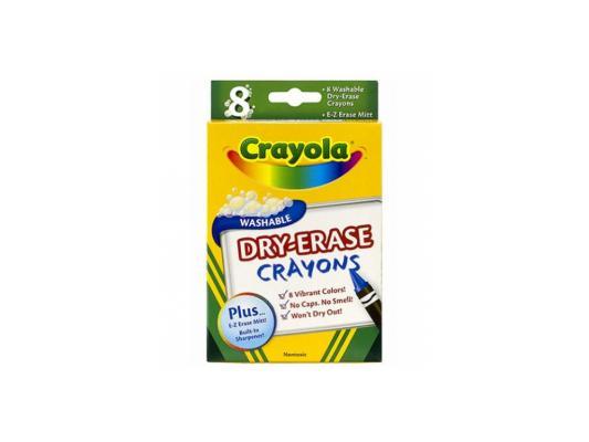 Восковые мелки Crayola 64710 8 цветов 8 штук от 3 лет crayola восковые мелки 8 шт crayola