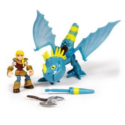 Игровой набор Dragons Дракон и всадник Hiccup & Toothless 20067364 dragons фигурка toothless сидящий