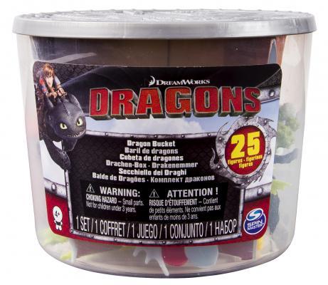 Игровой набор Dragons Маленькие драконы и викинги от 4 лет 25 предметов 66598
