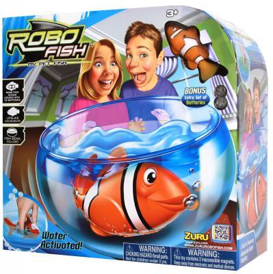 Интерактивная игрушка ZURU Клоун с аквариумом 2502 от 3 лет жёлтый 2502