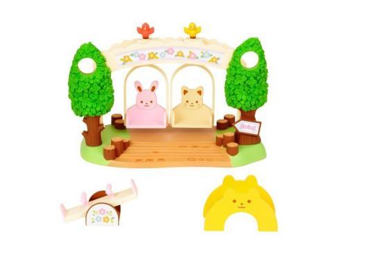 Игровой набор Sylvanian Families Детская площадка с качелями 2635 sylvanian families холодильник с продуктами новый