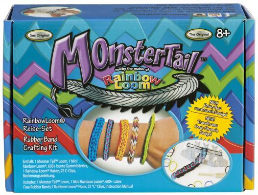 Набор для плетения Rainbow Loom Monster Tail от 7 лет 600 шт 21379 набор цветных резинок для плетения фенечек loom twister sv11757